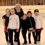 Viktoria med tävlingsgruppen, jan 2012