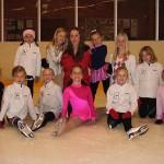 tävlingsgruppen med Nicole